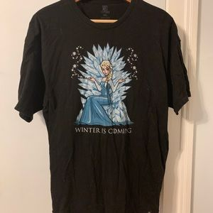"""Shirts - """"Winter is Coming"""" Frozen/Game of Thrones T-shirt"""